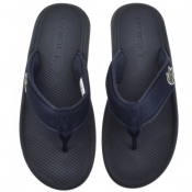 Product Image for Lacoste Croco Flip Flops Navy